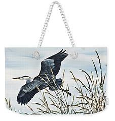 Herons Flight Weekender Tote Bag by James Williamson