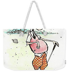 Hole In One? Weekender Tote Bag by Connor Reed Crank