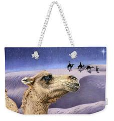 Holy Night Weekender Tote Bag by Sarah Batalka