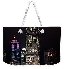 Hong Kong Skyline Weekender Tote Bag by American School