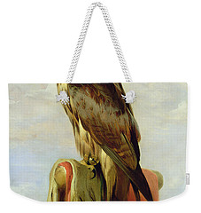 Hooded Falcon Weekender Tote Bag by Sir Edwin Landseer