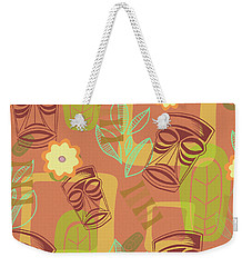 Hour At The Tiki Room Weekender Tote Bag by Little Bunny Sunshine