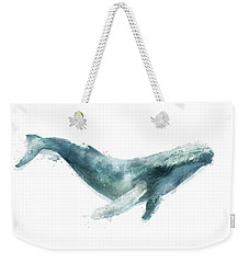 Humpback Whale From Whales Chart Weekender Tote Bag by Amy Hamilton