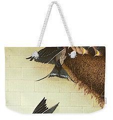 Hungry Mouths Weekender Tote Bag by Pat Scott