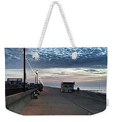Hunstanton At 5pm Today  #sea #beach Weekender Tote Bag by John Edwards