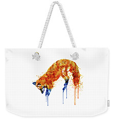 Hunting Fox  Weekender Tote Bag by Marian Voicu