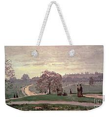 Hyde Park Weekender Tote Bag by Claude Monet