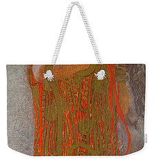 Hygieia Weekender Tote Bag by Gustav Klimt
