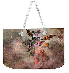I See Your Fairy Dust And Raise You This Weekender Tote Bag by Betsy Knapp