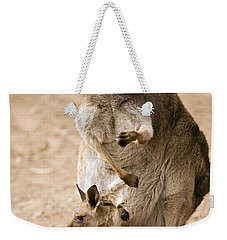 In  Mother's Care Weekender Tote Bag by Mike  Dawson