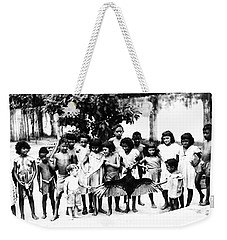 In The Amazon 1953 Weekender Tote Bag by W E Loft