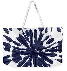 Indigo I Weekender Tote Bag by Mindy Sommers