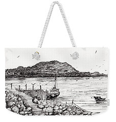 Iona From Mull Weekender Tote Bag by Vincent Alexander Booth