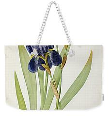 Iris Germanica Weekender Tote Bag by Pierre Joseph Redoute