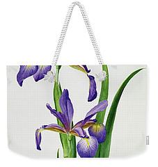 Iris Monspur Weekender Tote Bag by Anonymous