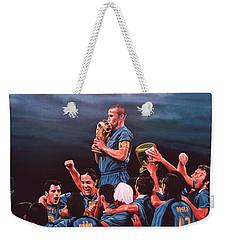 Italia The Blues Weekender Tote Bag by Paul Meijering