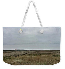 It's A Grey Day In North Norfolk Today Weekender Tote Bag by John Edwards