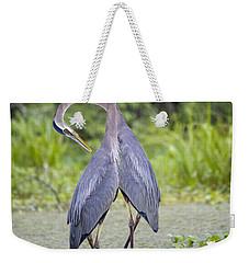 I've Got Your Back Weekender Tote Bag by Betsy Knapp