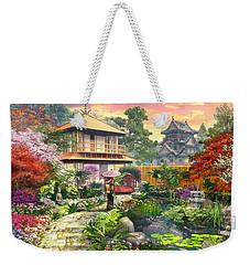 Japan Garden Variant 2 Weekender Tote Bag by Dominic Davison