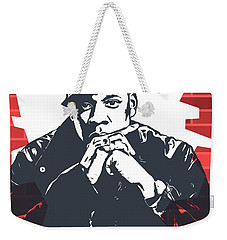 Jay Z Graffiti Tribute Weekender Tote Bag by Dan Sproul
