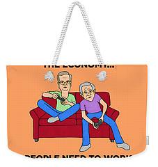 Jeb Bush Weekender Tote Bag by Sean Corcoran