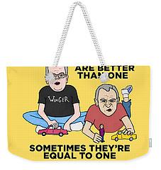Jebbbers Weekender Tote Bag by Sean Corcoran