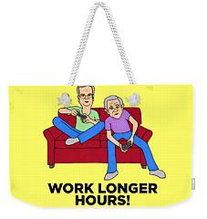 Jebbers Weekender Tote Bag by Sean Corcoran