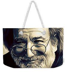Jerry Garcia Artwork  Weekender Tote Bag by Sheraz A