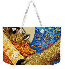 Jibaro Y Sol Weekender Tote Bag by Oscar Ortiz