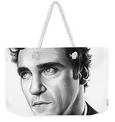 Joaquin Pheonix Weekender Tote Bag by Greg Joens