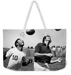 Joe Namath (1943- ) Weekender Tote Bag by Granger