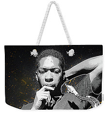 John Coltrane Weekender Tote Bag by Semih Yurdabak