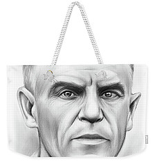 John Heisman Weekender Tote Bag by Greg Joens