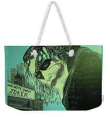 Joker Weekender Tote Bag by Scott Murphy