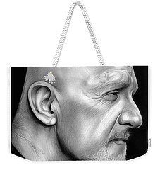 Jonathan Banks Weekender Tote Bag by Greg Joens