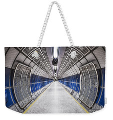 Journey To The Center Of Your Mind Weekender Tote Bag by Evelina Kremsdorf