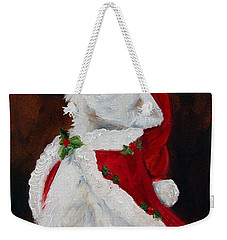 Joy To The World Weekender Tote Bag by Mary Sparrow