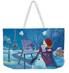 Joyeux Noel Weekender Tote Bag by Michael Humphries