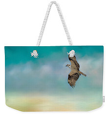 Joyful Morning Flight - Osprey Weekender Tote Bag by Jai Johnson