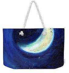 July Moon Weekender Tote Bag by Nancy Moniz
