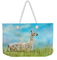 Just Chillin Weekender Tote Bag by Jai Johnson