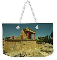 Knossos Palace  Weekender Tote Bag by Rob Hawkins