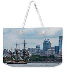L Hermione Philadelphia Skyline Weekender Tote Bag by Terry DeLuco