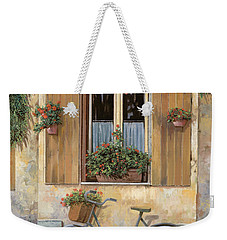 La Bici Weekender Tote Bag by Guido Borelli