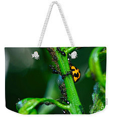Ladybird And The Ants By Kaye Menner Weekender Tote Bag by Kaye Menner