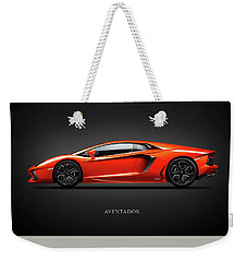 Lamborghini Aventador Weekender Tote Bag by Mark Rogan