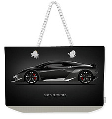 Lamborghini Sesto Elemento Weekender Tote Bag by Mark Rogan