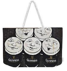 Late Night Guinness Limerick Ireland Weekender Tote Bag by Teresa Mucha