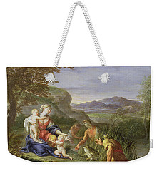 Latona And The Frogs Weekender Tote Bag by Francesco Trevisani