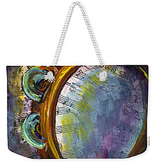 Lay Down Sally Weekender Tote Bag by Raette Meredith